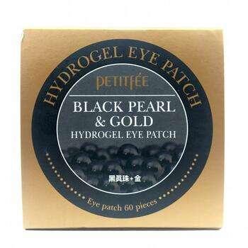 Купить Petitfee Black Pearl Gold Hydrogel Eye Patch 60 Patches