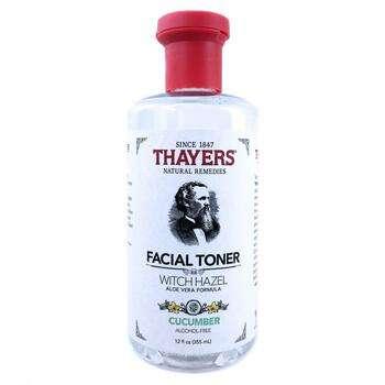 Купить Witch Hazel Aloe Vera Formula Alcohol Free Toner Cucumber 355 ...