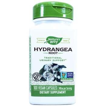 Купить Hydrangea Root 370 mg 100 Vegetarian Capsules (Корінь гортензі...