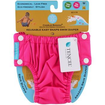 Купить Reusable Easy Snaps Swim Diaper Hot Pink Medium 1 Diaper