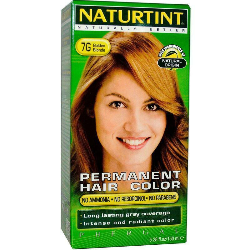Краска для волос 7G Golden Blonde 150 мл фото товара
