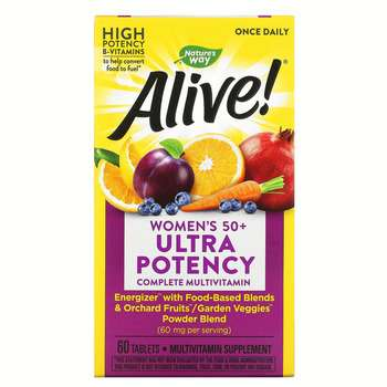 Купить Nature's Way Alive Once Daily Womens 50 Multi Vitamin 60 Tablets