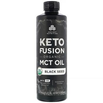 Купить Keto Fusion Organic MCT Oil Black Seed 473 ml ( Keto Fusion Ор...