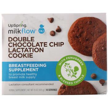 Купить UpSpring Milkflow Lactation Cookies Double Chocolate Chip 10 P...