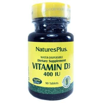 Купить Nature's Plus Vitamin D3 400 IU 90 Tablets