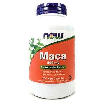 Купить Now Foods Maca 500 mg 250 Veggie Caps