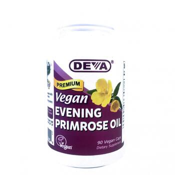 Купить Deva Vegan Premium Evening Primrose Oil 90 Vegan Caps