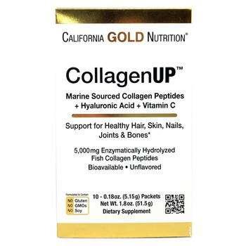 Купить CollagenUp Marine Collagen + Hyaluronic Acid + Vitamin C Unfla...