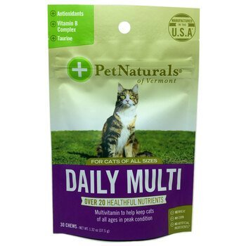 Купить Pet Naturals of Vermont Daily Multi For Cats 30 Chews 37.5 g