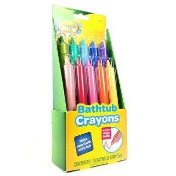 Купить Bathtub Crayons 10 crayons (CRY 10050)