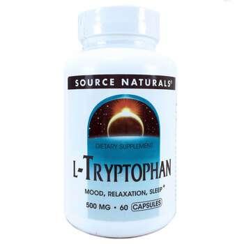Купить Source Naturals L-Tryptophan 500 mg 60 Capsules