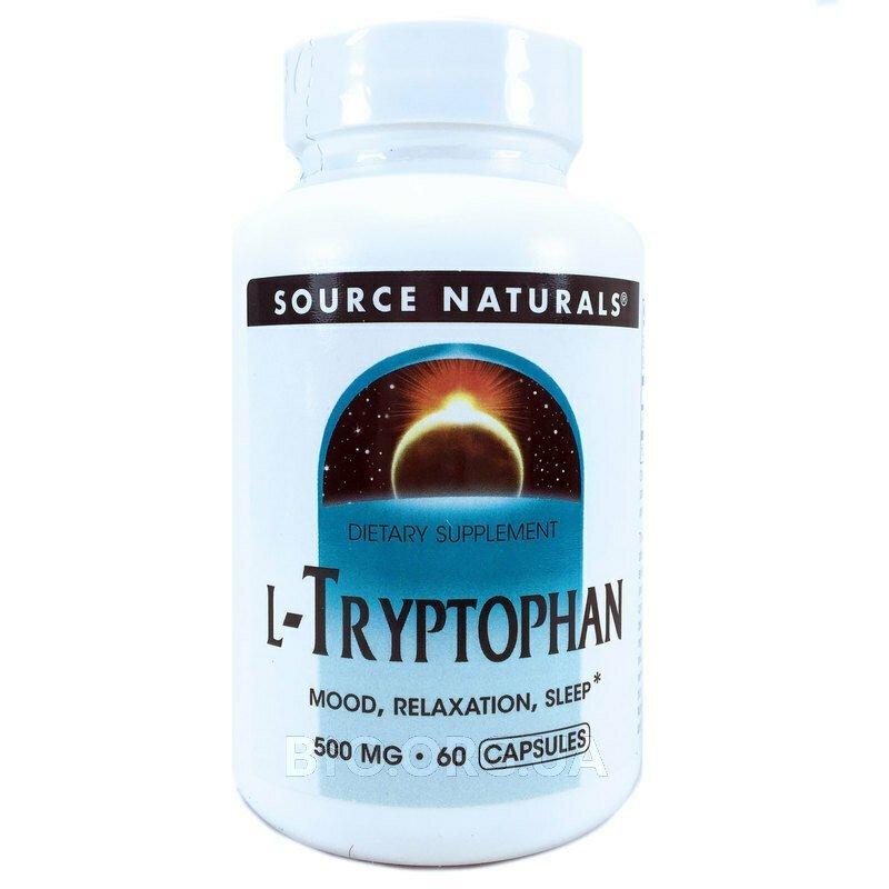 L-Триптофан 500 мг 60 капсул фото товара