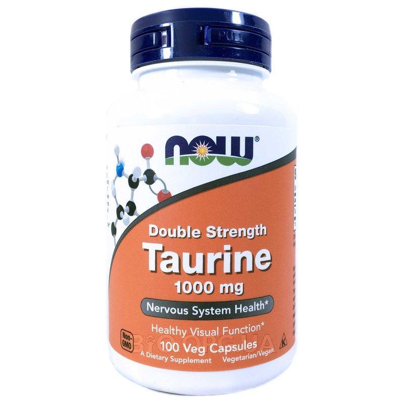 Таурин двойной силы 1000 мг 100 капсул фото товара