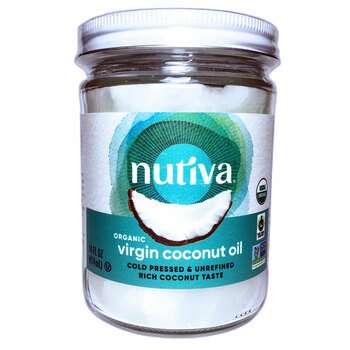 Купить Nutiva Organic Superfood Coconut Oil Virgin 414 ml