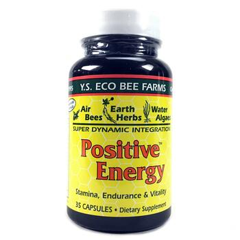 Купить Y.S. Eco Bee Farms Positive Energy 35 Capsules