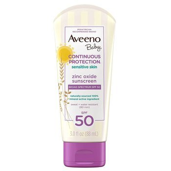 Купить Baby Continuous Protection Sunscreen Lotion SPF 50 88 ml