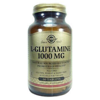 Купить Solgar L Glutamine 1000 mg 60 Tablets