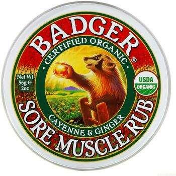 Купить Badger Company Sore Muscle Rub Cayenne & Ginger 56 g