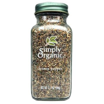 Купить Simply Organic Lemon Pepper 90 g