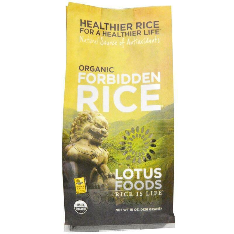 Organic Forbidden Rice 15 426 g фото товара