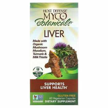 Купить Myco Botanicals Liver Helps Support Liver Health 60 Vegetarian...