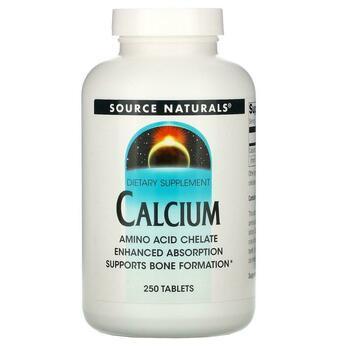 Купить Source Naturals Calcium 250 Tablets