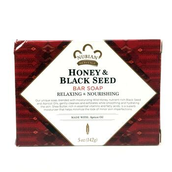 Купить Nubian Heritage Honey & Black Seed Bar Soap 142 g