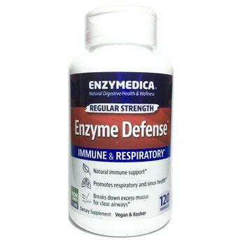 Купить Enzymedica Enzyme Defense Formerly ViraStop 120 Capsules