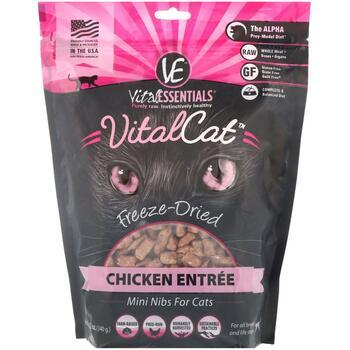 Купить Vital Essentials Vital Cat Freeze-Dried Mini Nibs For Cats Chi...