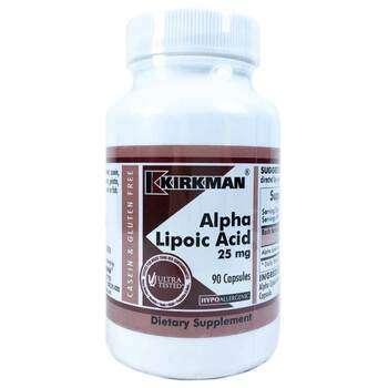 Купить Alpha Lipoic Acid 25 mg 90 Capsules (Альфа Ліпоєва кислота 25 ...