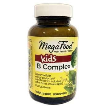 Купить MegaFood Kids B-Complex 30 Tablets