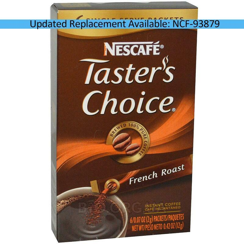 Tasters Choice Instant Coffee French Roast 6 Packets 0.07 2 g ... фото товара