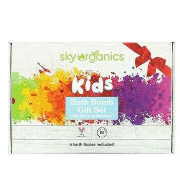 Купить Sky Organics Kids Bath Bombs with Surprise Toys 6 Bath Bombs