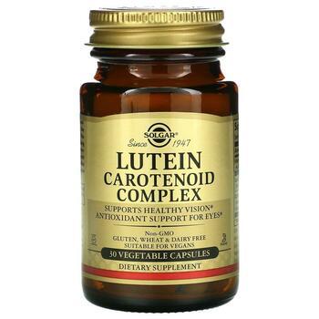 Купить Lutein Carotenoid Complex 30 Vegetable Capsules ( Лютеин карот...