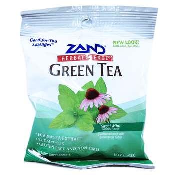 Купить GreenTea Herbalozenge Sweet Mint 15 Lozenges (М'ятні льодяники...