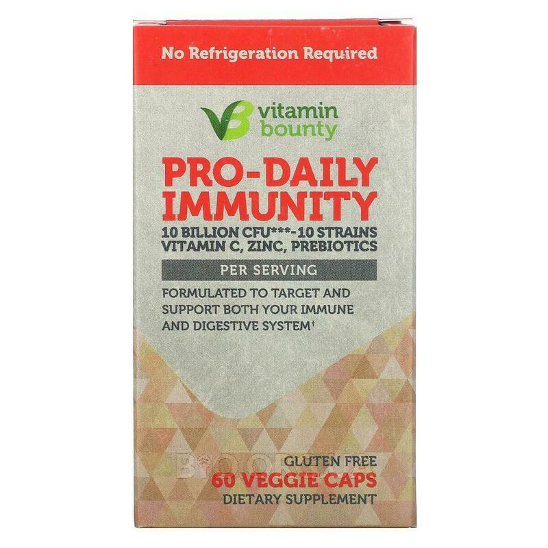 Pro-Daily Immunity 10 Billion CFU 60 Veggie Caps фото товара