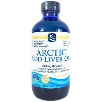 Купить Nordic Naturals Arctic Cod Liver Oil Lemon 237 ml