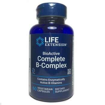 Купить BioActive Complete B-Complex 60 Vegetable Capsules