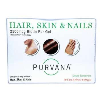 Купить Wellgenix Health Purvana Hair Skin & Nail 30 Softgels