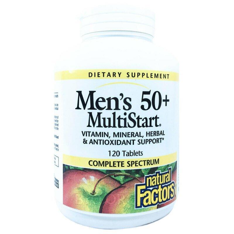 Мультивитамины для мужчин 50+ 120 таблеток фото товара
