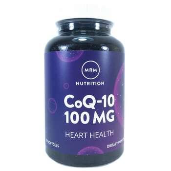 Купить MRM CoQ-10 убихинон 100 мг 120 гелевых капсул