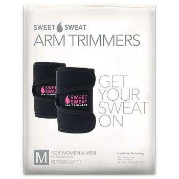 Купить Sports Research Sweet Sweat Arm Trimmers Unisex Regular Pink 1...