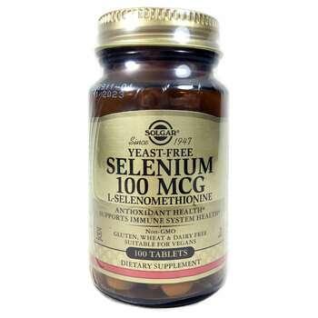 Купить Selenium Yeast Free 100 mcg 100 Tablets ( Селен без дріжджів 1...
