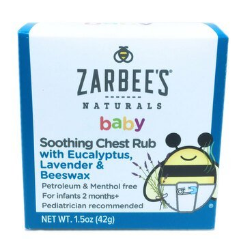 Купить Baby Soothing Chest Rub with Eucalyptus Lavender & Beeswax 42 g
