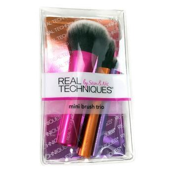 Купить Real Techniques by Sam and Nic On Location Mini Brush Trio 3 P...