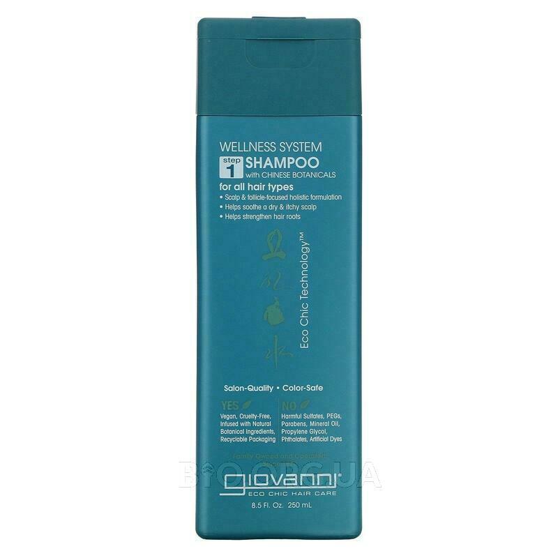 Джованни Шампунь для оздоровления волос с китайскими травами 2... фото товара
