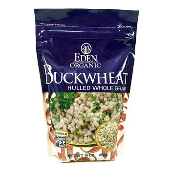 Купить Eden Foods Organic Buckwheat Hulled Whole Grain 454 g