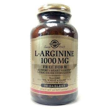 Купить Solgar L-Arginine 1000 mg 90 Tablets