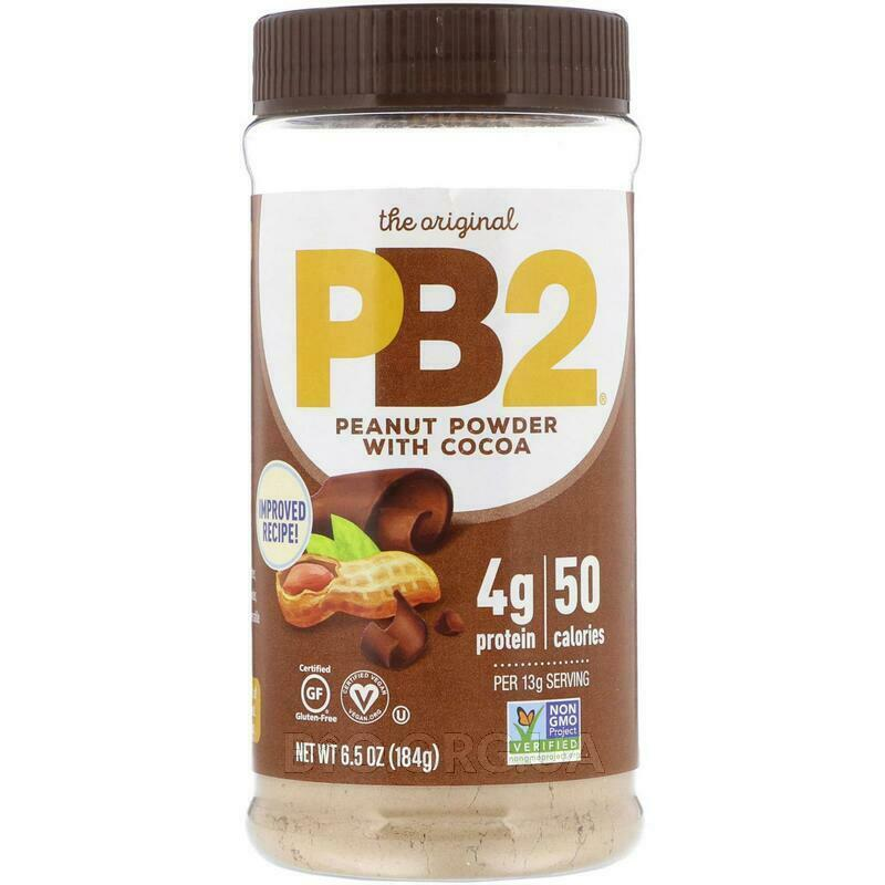PB2 Арахисовое масло в порошке с какао 6 184 г фото товара