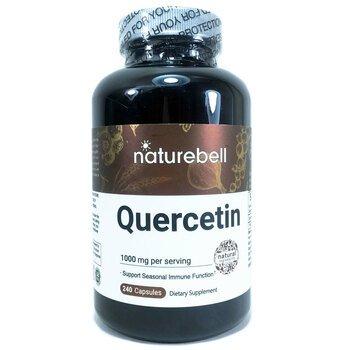 Купить Quercetin 1000 mg 240 Capsules ( Кверцетин 1000 мг (в 2 капсул...